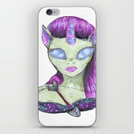 zodiac sign sagittarius iPhone Skin