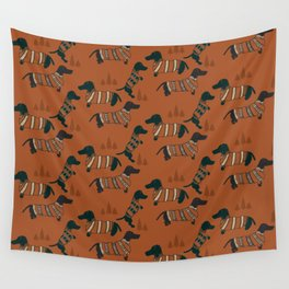 Hot Dogs Wall Tapestry