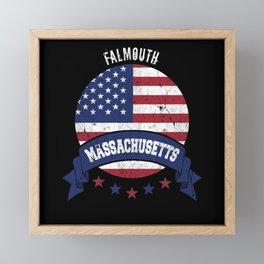 Falmouth Massachusetts Framed Mini Art Print