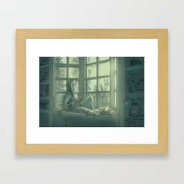 Early Mornings  Framed Art Print