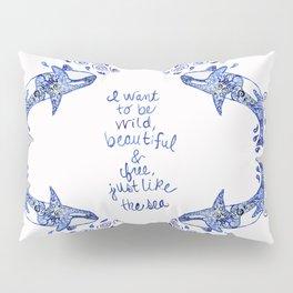 Wild Orca Pillow Sham