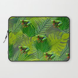 Frog Forest Laptop Sleeve