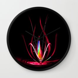 Flowermagic - Light and energy Wall Clock