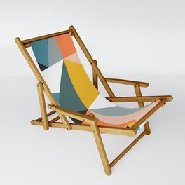 Modern Geometric 36 Sling Chair