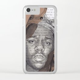 The Notorious BIG Clear iPhone Case