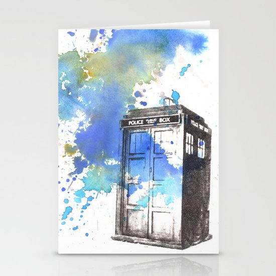 Doctor Who Tardis Stationery Cards