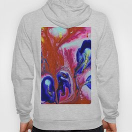 Purple and Orange Fusion Hoody
