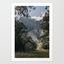 Mountain Cabin - Landscape and Nature Photography Art Print