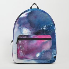 Blue Abstract Art Painting Backpack