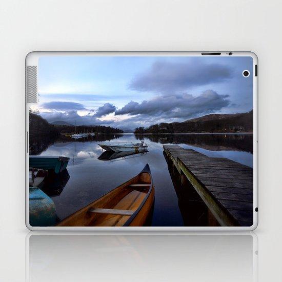 Boats on Coniston Water Laptop & iPad Skin