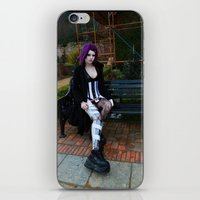 android iPhone & iPod Skins featuring Android by Toxic Tears
