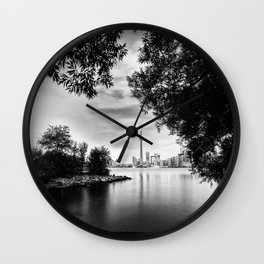 Toronto Black and White Wall Clock