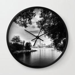 Toronto Black and White Wall Clock