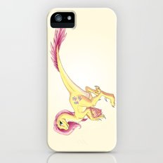 Raptor Fluttershy iPhone (5, 5s) Slim Case