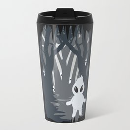 Ignis Fatuus (Fuego fatuo - vector illustration) Travel Mug