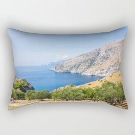 Nerano View with Capri Rectangular Pillow
