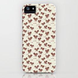 A Cranky Flock iPhone Case