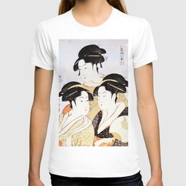 Three Beauties of the Present Day T-shirt