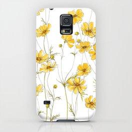 Yellow Cosmos Flowers iPhone Case