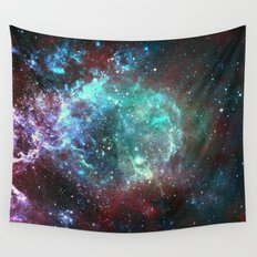 Star field in space Wall Tapestry