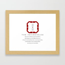 The Invincibles Framed Art Print
