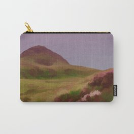 Connemara Ireland Travel Poster Vintage Style Carry-All Pouch