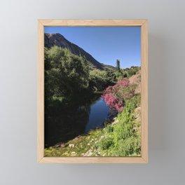 Silent Andalusian Riverside Framed Mini Art Print