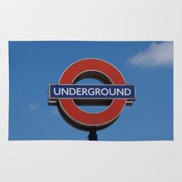 Undergound sign Rug