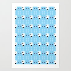 Polar Bears! Art Print