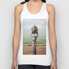 view to the bay Unisex Tank Top