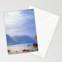 Carl Morgenstern Midday Sun at St. Goarshausen Stationery Cards