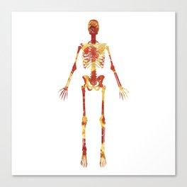 Pizza Bones Canvas Print