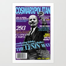 COSMARXPOLITAN, Issue 3 Art Print