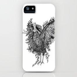 Turkey - Go Vegan iPhone Case