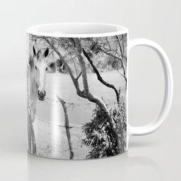Eye contact, Soul contact Coffee Mug