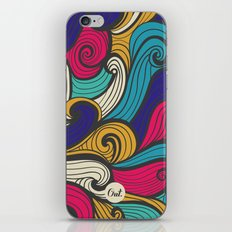 out waves iPhone & iPod Skin