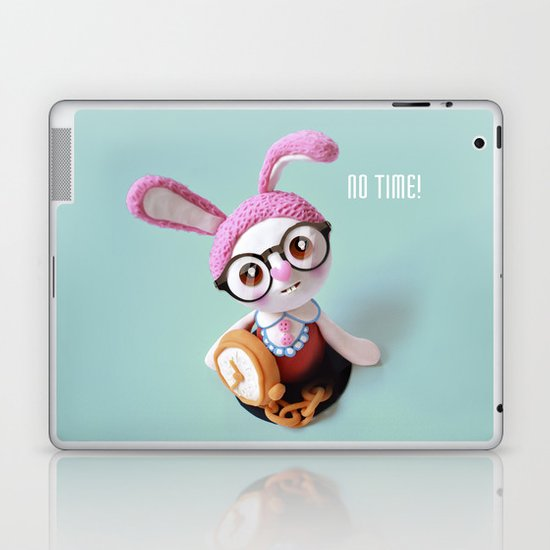 No time! Laptop & iPad Skin