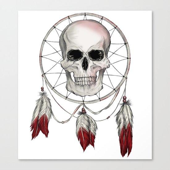 Skullcatcher Canvas Print