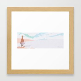 The Thawing Framed Art Print