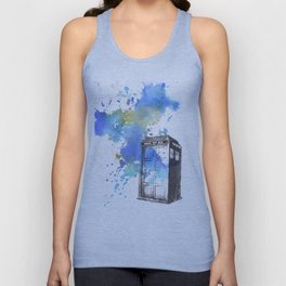 Doctor Who Tardis Unisex Tank Top