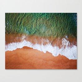 beach in australia Canvas Print