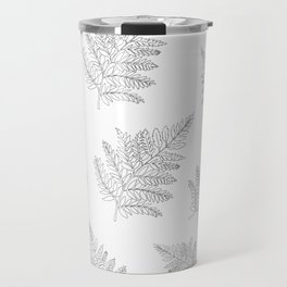 Farn Pattern Travel Mug