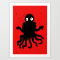 Not quite an octo Art Print