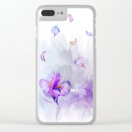 Iris's flowe Clear iPhone Case