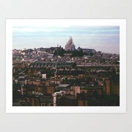 Montmarte, Paris Art Print