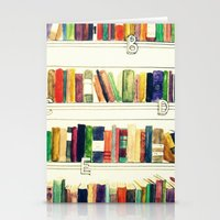 books Stationery Cards featuring Books by Ela Caglar