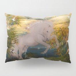 Einhorn im Wald Pillow Sham