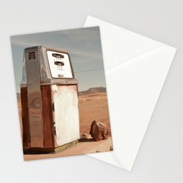Desert Gas Stationery Cards