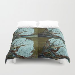 Four Square Cotton Duvet Cover