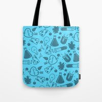 science Tote Bags featuring SCIENCE!  by Neat Good Job!